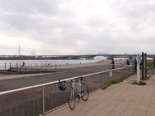 hamukenのブログ-荒川ゴール