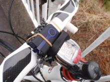 $hamukenのブログ-GPS自転車装着