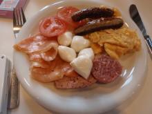 hamukenのブログ-朝食2