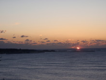 hamukenのブログ-日の出1