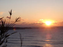 hamukenのブログ-日の出2