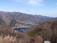 hamukenのブログ-奥多摩湖1